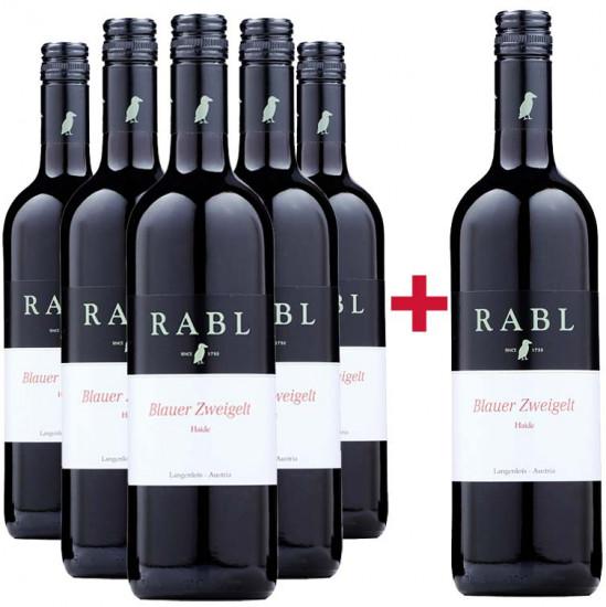 5+1 Blauer Zweigelt Paket - Weingut Rabl