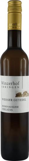2015 Gutedel Beerenauslese edelsüß 0,5 L - Winzerhof Ebringen