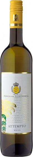 2020 ATTEMPTO Weiss trocken - Weingut Herzog von Württemberg