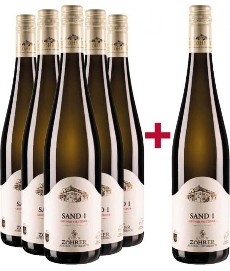 5+1 Grüner Veltliner Paket - Weingut Zöhrer
