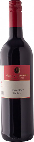 2017 Dornfelder lieblich - Weingut Volker Barth