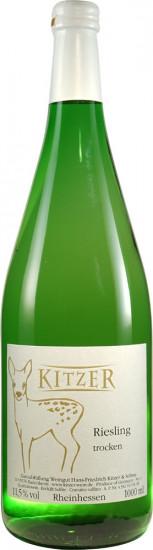 2020 Riesling trocken 1,0 L - Weingut Kitzer