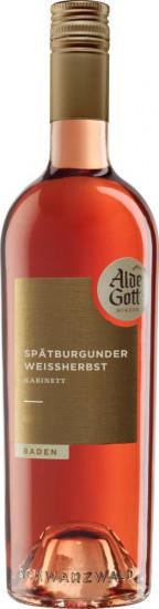 2020 Spätburgunder Weißherbst Kabinett lieblich - Alde Gott Winzer Schwarzwald