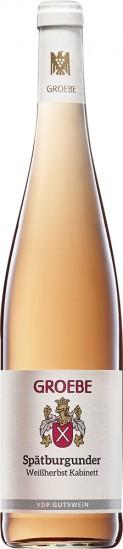 2020 Spätburgunder Rosé VDP.Gutswein feinherb - Weingut K.F. Groebe