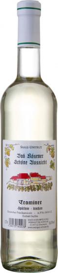 2020 Bad Kösener Schöne Aussicht Traminer Auslese trocken - Weingut Schulze