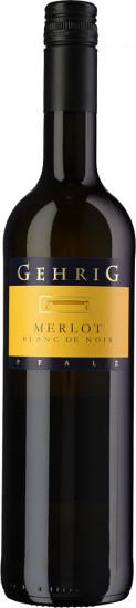 2020 Merlot Blanc de Noir trocken - Weingut Gehrig