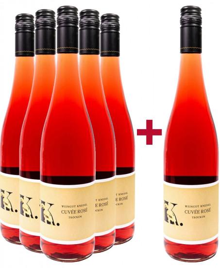 5+1 Paket Cuvée Rosé - Weingut Kneisel