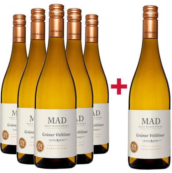 5+1 Paket Grüner Veltliner Leithaberg DAC - Weingut MAD