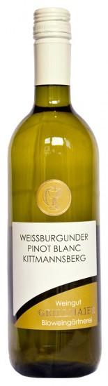 2020 Ried Kittmansberg Weißburgunder - Weingut Grillmaier Bioweingärtnerei