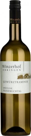 2018 Gewürztraminer Spätlese feinfruchtig feinherb - Winzerhof Ebringen