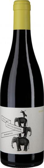 2019 Samtpfote Cuvée Rot trocken BIO - Weingut Bietighöfer