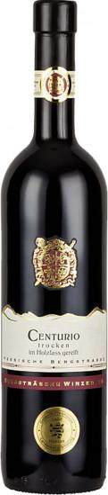 2018 CENTURIO Rotwein Cuvée aus Merlot und Pinot Noir -im Holzfass ausgebaut- TERRA STARKENBURG trocken - Bergsträßer Winzer