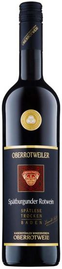 2019 Oberrotweiler Spätburgunder Spätlese trocken - Kaiserstühler Winzerverein Oberrotweil