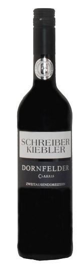 2018 Dornfelder Classic trocken - Weingut Schreiber-Kiebler