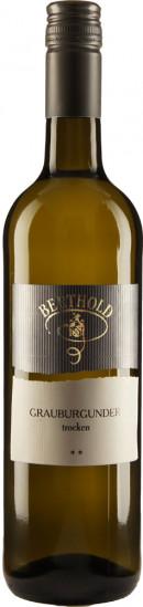 2020 Grauer Burgunder ** trocken - Weingut Berthold