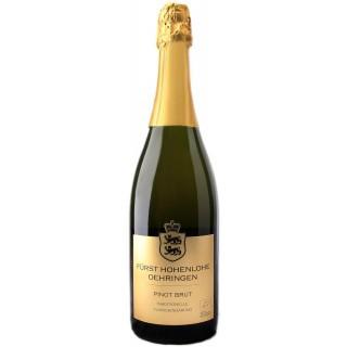 2016 Winzersekt Pinot extrabrut BIO - Weingut Fürst Hohenlohe-Oehringen