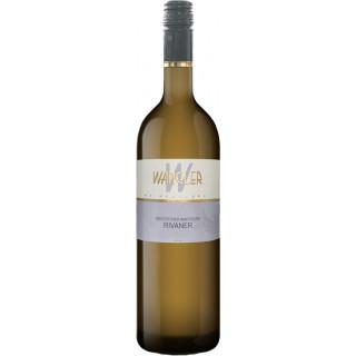 2020 Beilsteiner Wartberg Rivaner halbtrocken - Weinkellerei Wangler