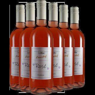 """""""RoséPaket mit Herz"""" trocken - Wein- und Sektgut Rosenhof"""