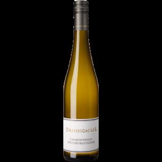 2018 Dreissigacker Chardonnay-Weißburgunder Trocken BIO - Weingut Dreissigacker