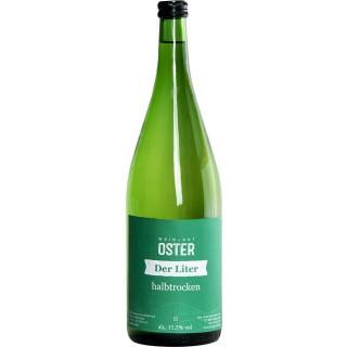 2018 Der Liter halbtrocken 1,0 L - Weingut Oster