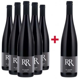 5+1 Paket Saint Laurent trocken - Weingut Richard Rinck