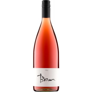 2019 Literrosé halbtrocken 1,0 L - Wein- und Sektgut Braun