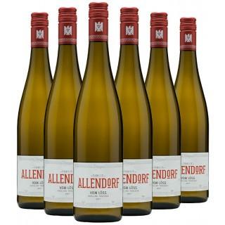 6 Flaschen Riesling vom Löss VDP. Gutswein-Paket