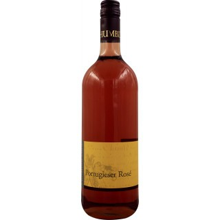 2019 Portugieser rosé feinherb 1,0 L - Weingut Chumbderhof