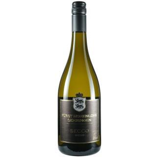 2019 Secco Weiss (Perlwein mit zugesetzter Kohlensäure) trocken - Weingut Fürst Hohenlohe-Oehringen