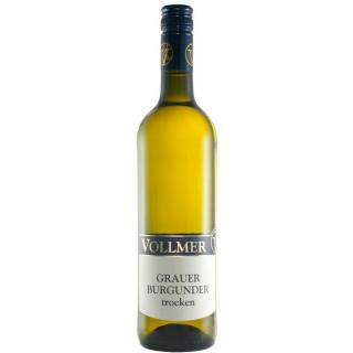 2017 Grauer Burgunder trocken - Weingut Roland Vollmer