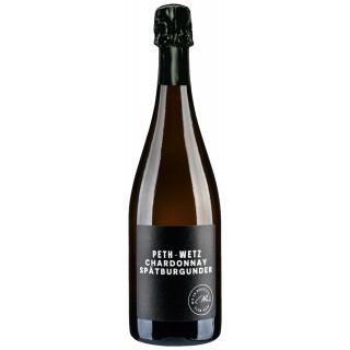 2016 Chardonnay Pinot Noir Sekt Brut nature - Weingut Peth-Wetz