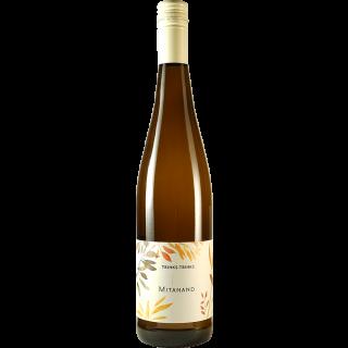 "2015 Geisenheimer Mönchspfad ""Mitanand"" Riesling QbA trocken - Weingut Trinks-Trinks!"