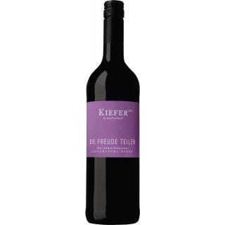 2018 Die Freude teilen Cuvée Rot lieblich - Weingut Friedrich Kiefer