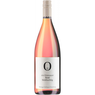 2020 Rosé Qualitätswein feinfruchtig halbtrocken 1,0 L - Weingut Schloss Ortenberg