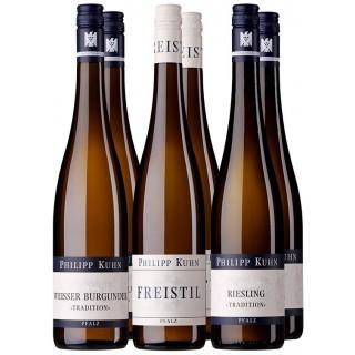 Weißwein-Probierpaket - Weingut Philipp Kuhn