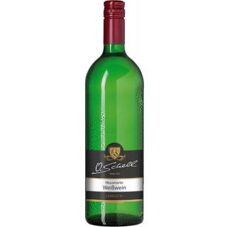 Weißwein Hausmarke lieblich 1,0 L - Weingut O.Schell