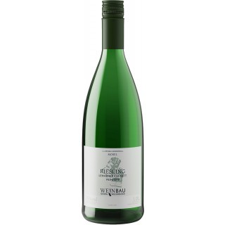 2019 Lehmener Riesling Kabinett feinherb 1,0 L - Weinbau Weckbecker