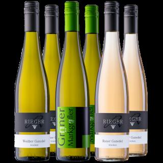 Das bunte Gutedelpaket - Weingut Rieger