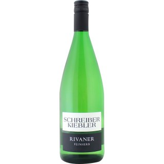 2019 Rivaner feinherb 1L - Weingut Schreiber-Kiebler