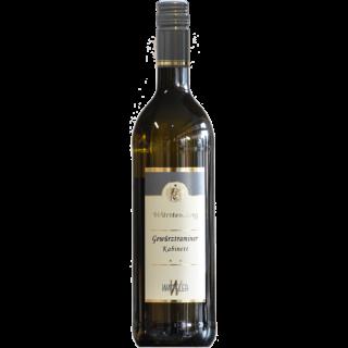 2019 Württemberger Gewürztraminer lieblich - Weinkellerei Wangler