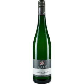 2018 Schiefer Riesling Spätlese süß - Weingut Weyh