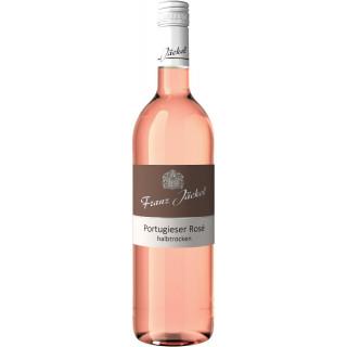 2019 Wallhäuser Pfarrgarten Portugieser Rosé halbtrocken - Weingut Franz Jäckel
