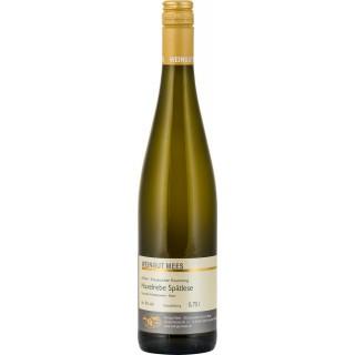 2016 Huxelrebe Spätlese Weißwein lieblich süß Nahe Kreuznacher Rosenberg - Weingut Mees