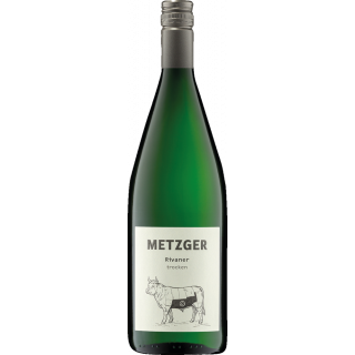 2020 Rivaner trocken 1L - Weingut Uli Metzger