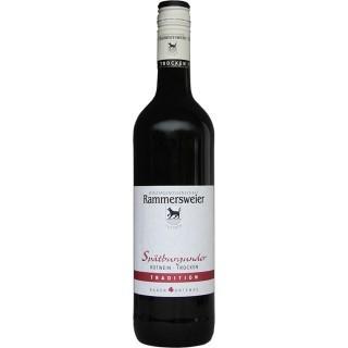 2016 Spätburgunder Rotwein Tradition QbA trocken - Winzergenossenschaft Rammersweier