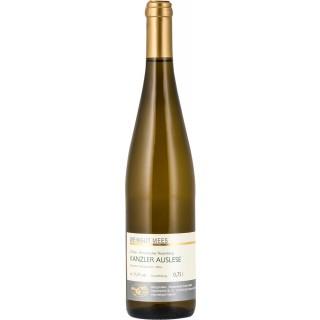 2018 Kanzler Auslese edelsüß süß Kreuznacher Rosenberg Nahe Weißwein - Weingut Mees