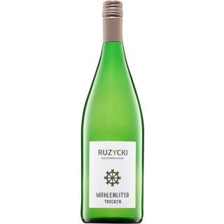 2019 Mühlen Liter trocken 1,0 L - Weingut Klostermühlenhof - Familie Ruzycki