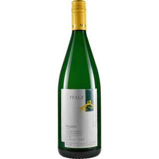 2019 Hambacher Schloßberg Silvaner trocken 1,0 L - Weinkellerei Paul Nickel & Söhne