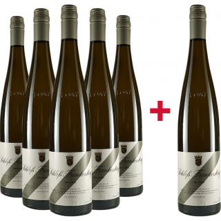5+1 Silvaner trocken Paket - Schlossgut Frankenberg