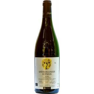 2016 Spätburgunder Rotwein SL Naturwein schwefelfrei, unfiltriert, naturtrüb BIO - Ökologisches Weingut Hubert Lay